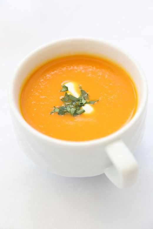 Gingered Carrot and Orange Soup | o r i g i n a l r e c i p e s | P…