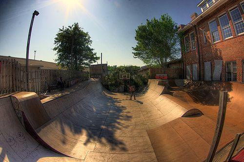 Backyard Skatepark Ideas : backyard skatepark  The farm project  Pinterest