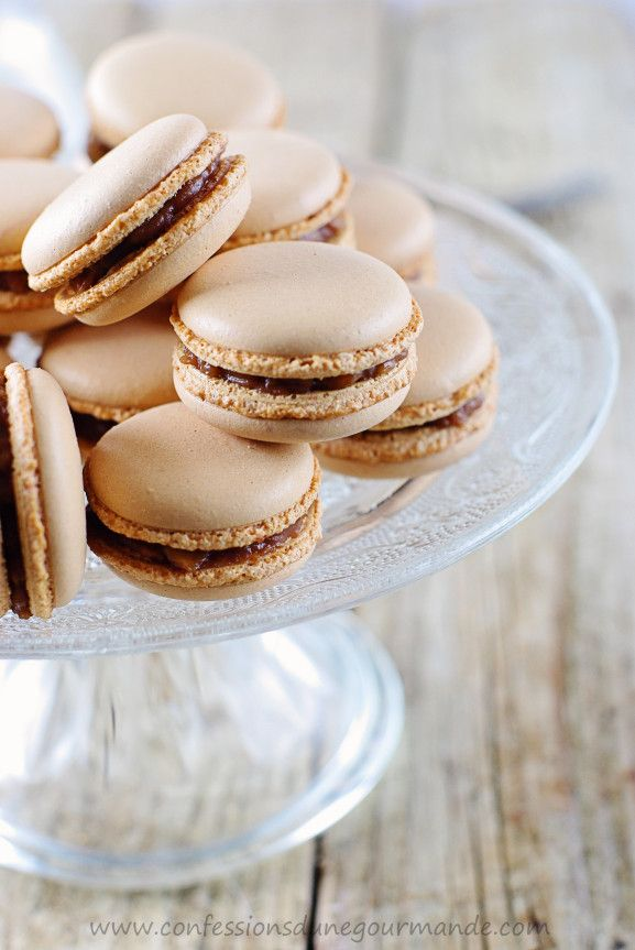 Macarons aux snickers 1 | foods I like | Pinterest