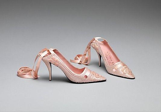1957 Dior обувь
