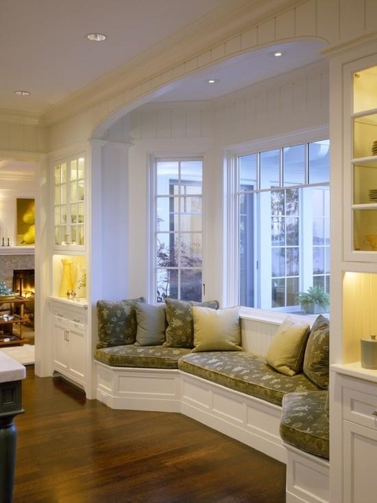 Beautiful Window Seat By Catalano Architects