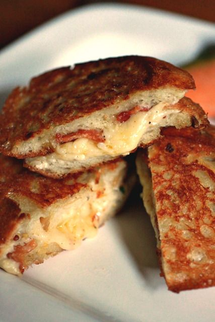 Barefoot Contessa's ultimate grilled cheese sandwiches. Court and I ...
