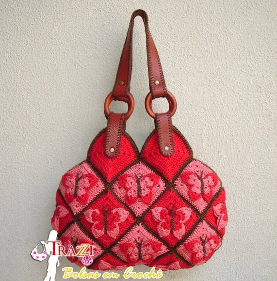 Beautiful Crochet Bags : Beautiful crochet bag More Crafts Pinterest