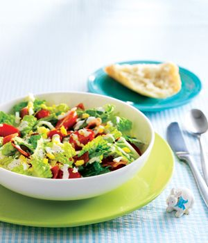 BLT Salad with Egg Confetti and Buttermilk Ranch Dressing - Wednesday ...