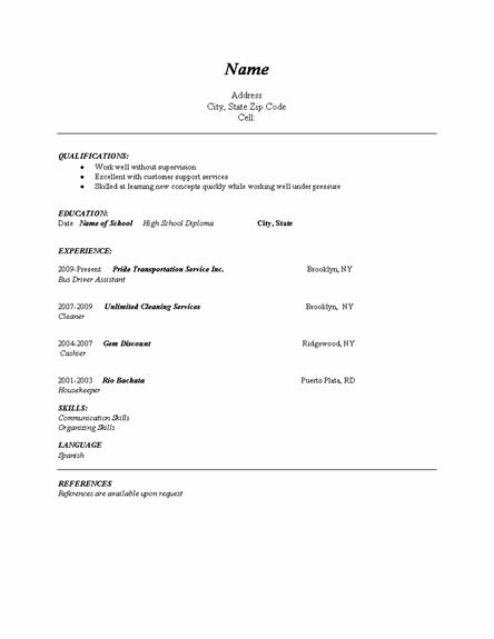 easy resume helpful hints
