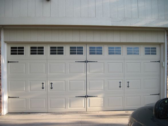 Faux Carriage House Garage Doors Exterior Ideas For My