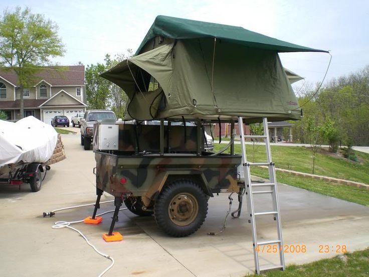 M416 trailer tent