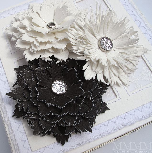 Multi layer paper flower