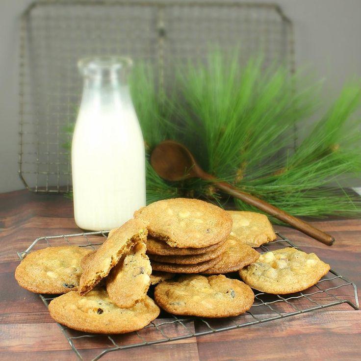 Cranberry-Orange Pistachio CHip Cookies | Eats & Treats Dessert Recip ...