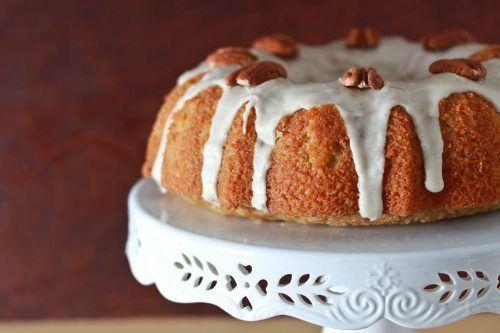 maple sour cream bundt cake | sweet treats | Pinterest