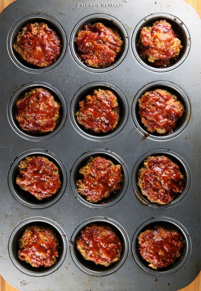 Gluten-Free Meat Loaf Muffins | Recipe