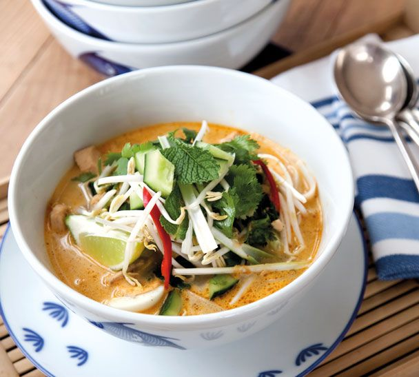 Chicken Laksa | Food to try | Pinterest