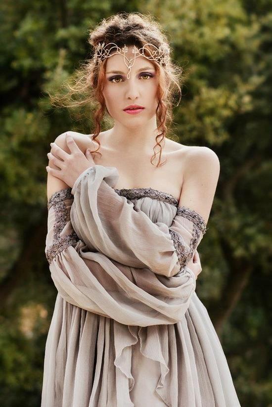 Celtic Style Dress And Hairstyle Tis 39 Irish Pinterest