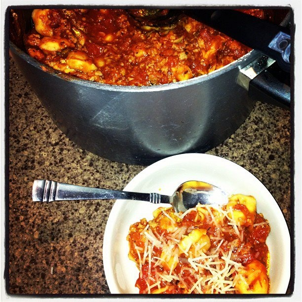 Cheese Ravioli Soup 1pck tortellini 1lb ground sausage,1cup chopped ...