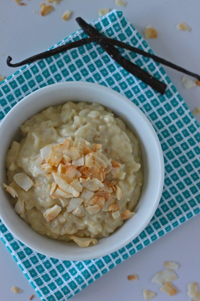 Coconut Vanilla Bean Rice Pudding | Recipe