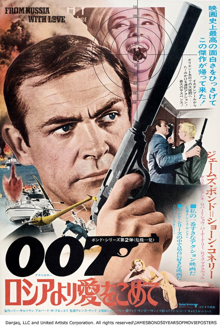 From Russia With Love | James Bond 007 | Pinterest
