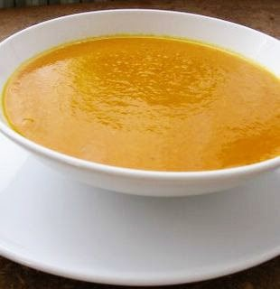fashionably foodie: carrot jalapeno soup
