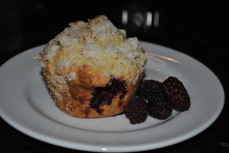 Lemon Ricotta Blackberry Muffins Topping: 1/3 cup sugar 1 1/2 ...