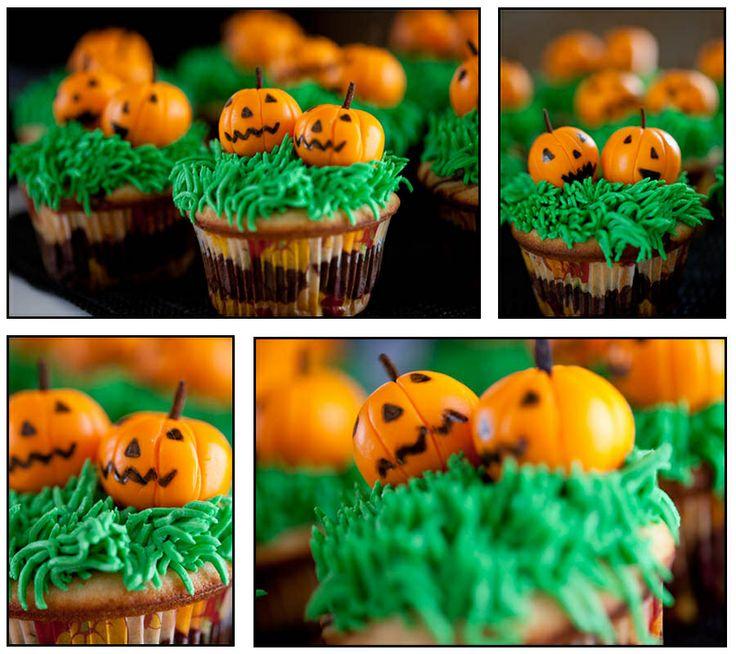 Halloween Cupcakes Pumpkins Halloween Themed Food