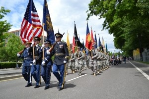 memorial day parade in canoga park