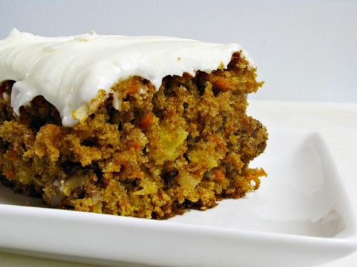 Whole Wheat Carrot Cake - Home Cooking Memories