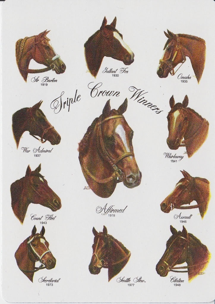 triple crown winners list horse racing