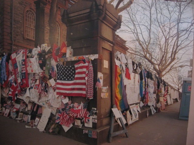 St_ Paul's Chapel At Ground Zero http://pinterest.com/pin/150518812518609907/