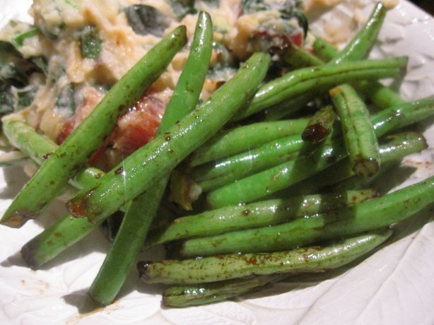 Spicy Garlic Green Beans | Food For Thought | Pinterest