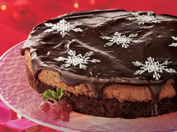 Chocolate Mousse Torte-I made for christmas last year, so YUMMY!