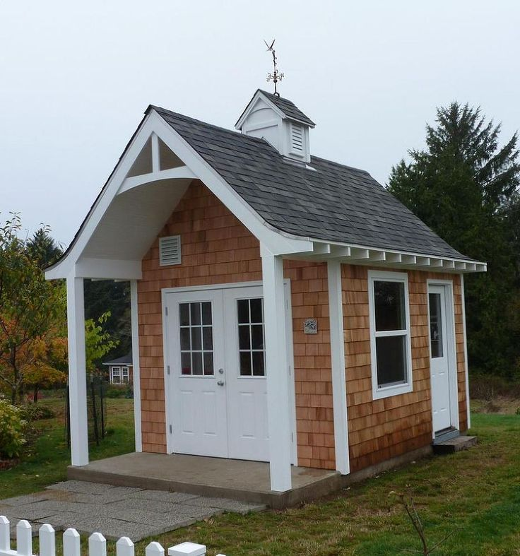 Cute Garden Shed from Hometalk