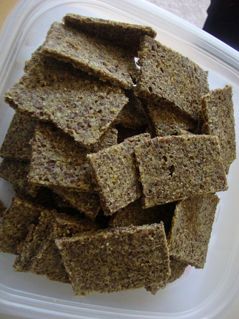 Raw Cumin-Walnut Flatbread/Crackers - I think these would make great ...