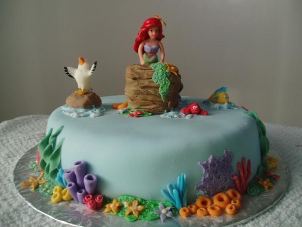 Easy Fish Template Birthday Cake Design