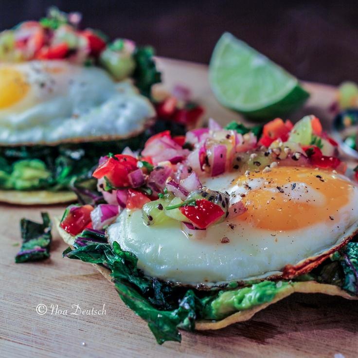 GF Breakfast Tostada | Gluten-Free Eats... | Pinterest