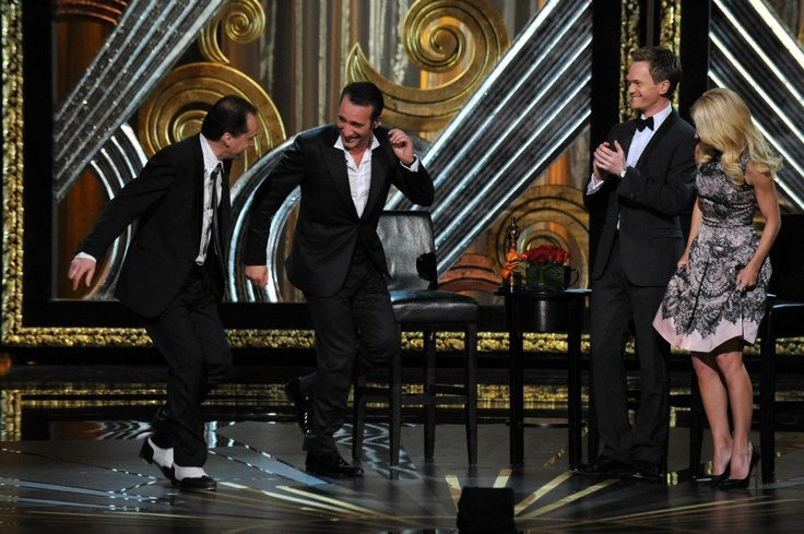 Jean dujardin academy award winner for best actor for Dujardin patrick