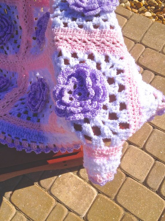 pics How to Crochet a Blanket