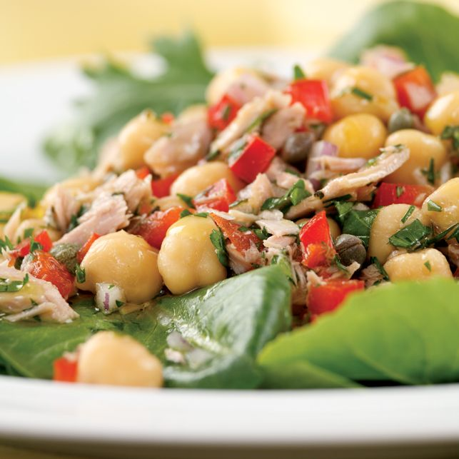 Mediterranean Tuna Antipasto Salad | Salads | Pinterest