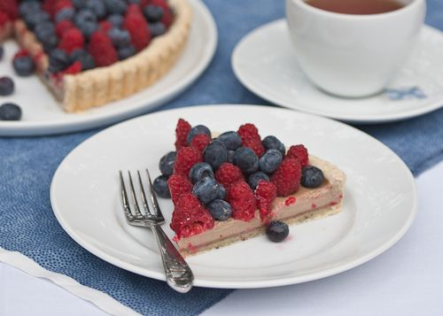Earl Grey Tart with Fresh Berries | Pies, Tarts & Cobblers | Pinterest