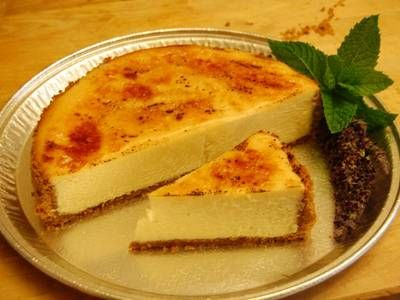 Lavender Honey Brulee Cheesecake - just made this and loved it!