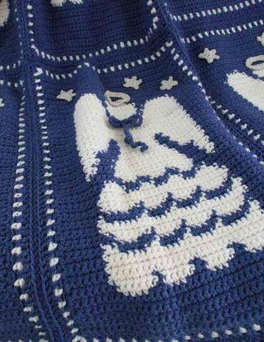 Baby Angel Afghan Pattern | AllFreeCrochet.com