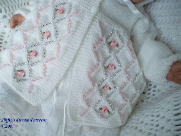 Baby Knitting Patterns Free Pinterest : BABY MATINEE KNITTING PATTERN chandail Pinterest