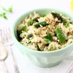 Slow-Cooker Mushroom Sage Risotto | ♡ yummy | Pinterest