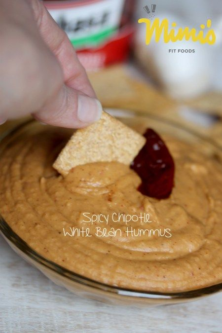 Spicy Chipotle White Bean Hummus - Mimi's Fit Foods Great for a ...