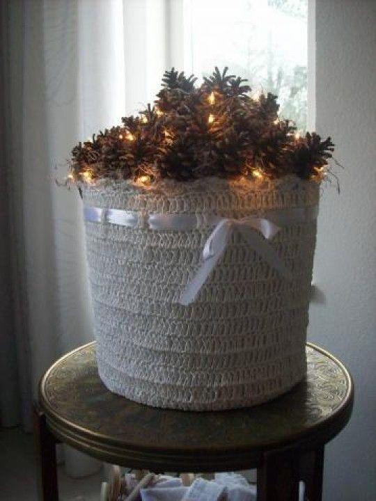 Decoratie idee voor de kerst kerst pinterest - Decoratie idee ...