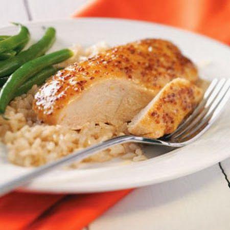 Maple Mustard Chicken | Elegant Desserts | Chicken Recipes | Pinterest