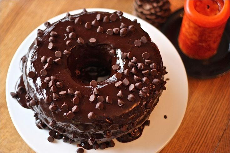 Giant Triple Chocolate Donut! Donut + cake and frosting! Chocolate ...