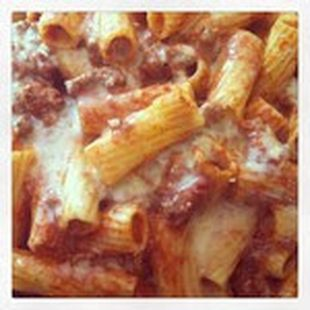 Rigatoni with Meat Sauce | Get in my belly | Pinterest