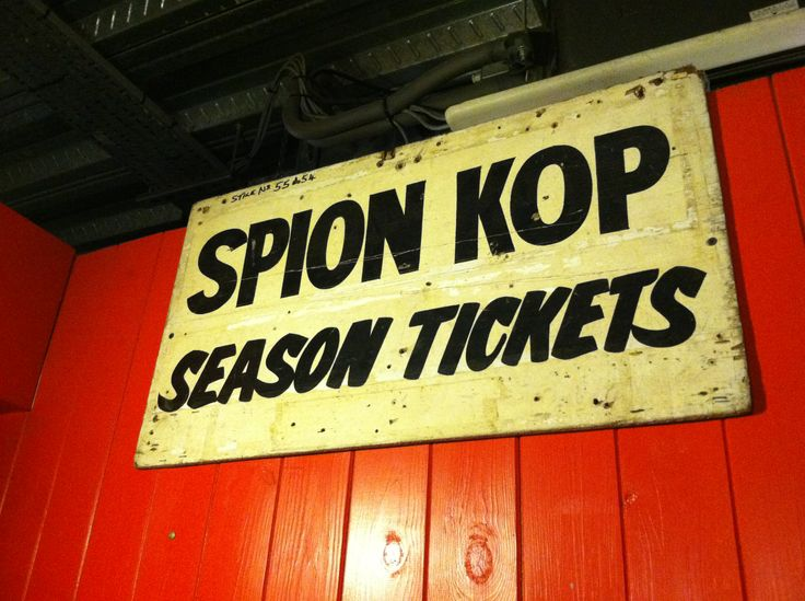 Spion Kop | Liverpool Football Club | Pinterest