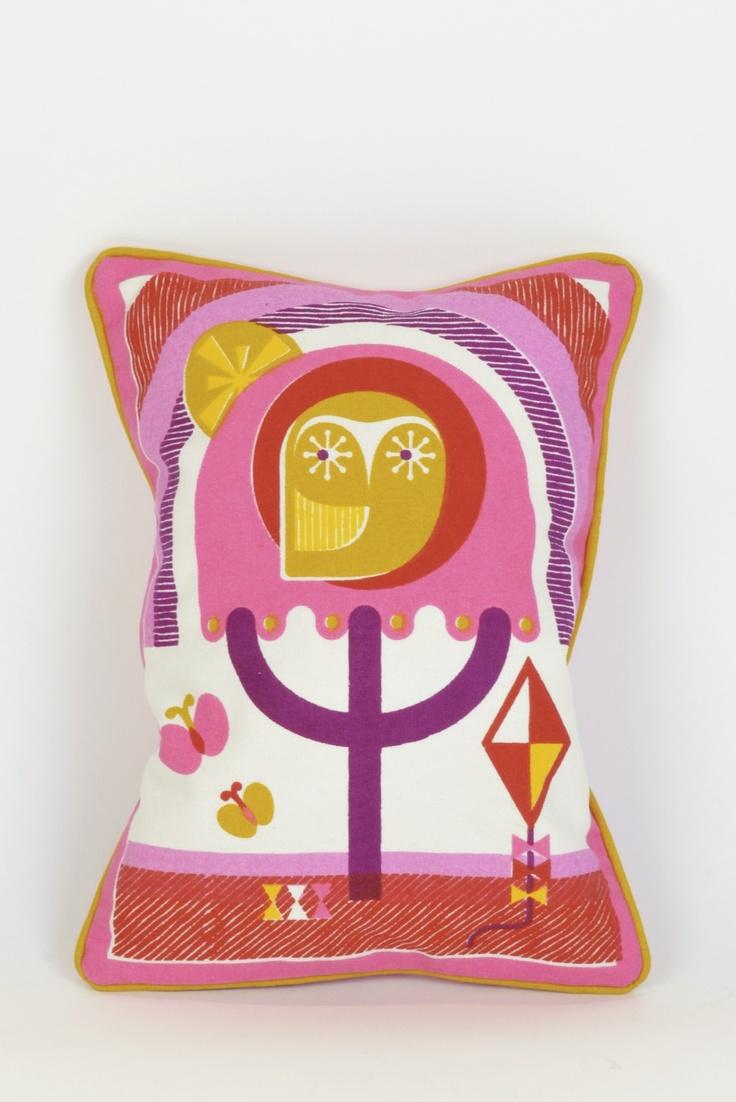 Junior Owl Pillow Jonathan Adler