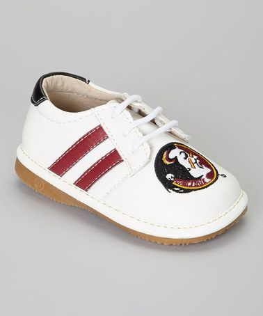 Take a look at this Florida State Seminoles Squeaker Sneaker by Squeak
