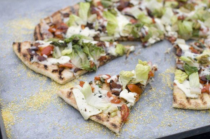 Recipe: Grilled BLT Pizza | Tampa Bay Eats | Pinterest